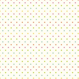 Riley Blake Designs - Le Crème Swiss Dot Reversed Multi on Cream