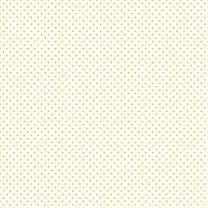 Riley Blake Designs - Le Crème Swiss Dot Reversed Lime on Cream