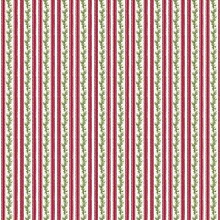 Penny Rose Fabrics - Anne of Green Gables Christmas - Stripe Red