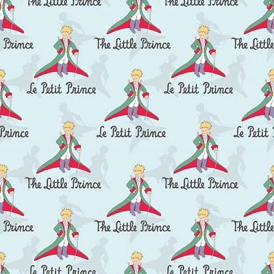 Riley Blake Designs - The Little Prince Title Aqua