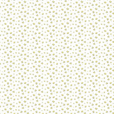 Riley Blake Designs - The Little Prince Stars White