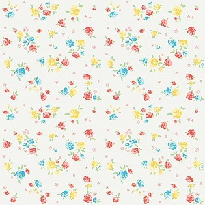 Penny Rose Fabrics - Bunnies and Blossoms Blossoms Cream