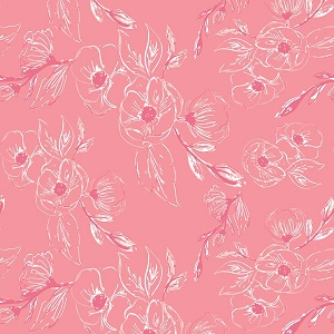 Riley Blake Designs - Grandale Carnation Pink