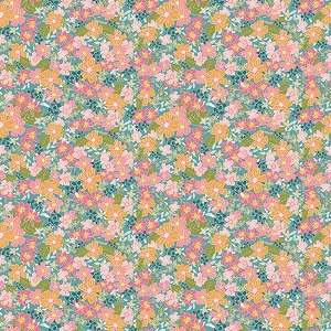 Riley Blake Designs - Grandale Floral Teal