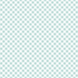 Riley Blake Designs - Seaside Gingham in Aqua