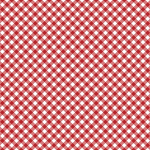 Riley Blake Designs - Seaside Gingham in Red