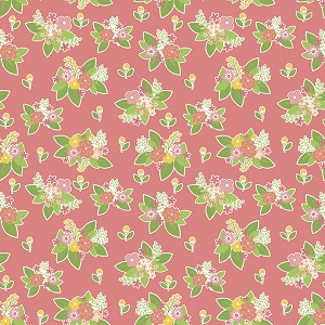 Riley Blake Designs - Vintage Adventure Floral in Pink