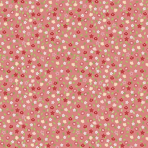 Riley Blake Designs - Vintage Adventure Tiny Floral in Pink