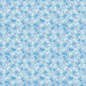 Penny Rose Fabrics - Petite Treat Bows in Blue