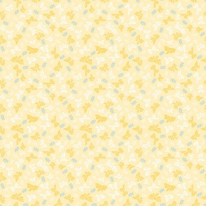 Penny Rose Fabrics - Petite Treat Bows in Yellow