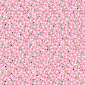 Penny Rose Fabrics - Petite Treat Floral in Pink