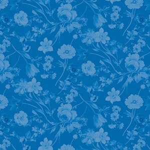 Penny Rose Fabrics - Afternoon Picnic Tonal in Blue