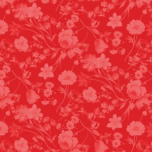 Penny Rose Fabrics - Afternoon Picnic Tonal in Red