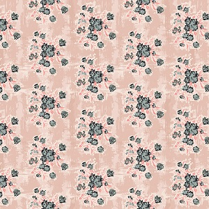 Riley Blake Designs - Abbie - Floral in Pink *** REMNANT PIECE 93CM X 112CM ***