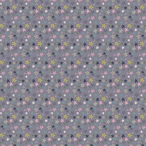 Riley Blake Designs - Mary Elizabeth - Daisies in Gray *** PREORDER ARRIVING END OF JANUARY 2019 ***