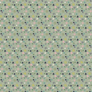 Riley Blake Designs - Mary Elizabeth - Daisies in Green *** PREORDER ARRIVING END OF JANUARY 2019 ***