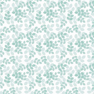 Riley Blake Designs - Mary Elizabeth - Leaves in Mint *** PREORDER ARRIVING END OF JANUARY 2019 ***
