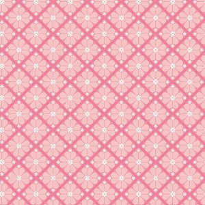 Riley Blake Designs - In The Meadow Lattice in Pink