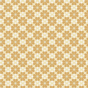 Riley Blake Designs - In The Meadow Lattice in Yellow