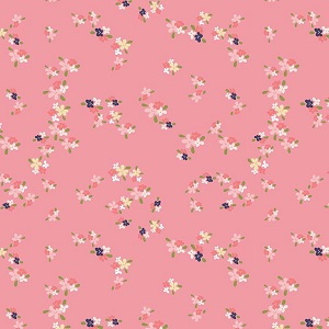 Riley Blake Designs - In The Meadow Flower Patch in Pink