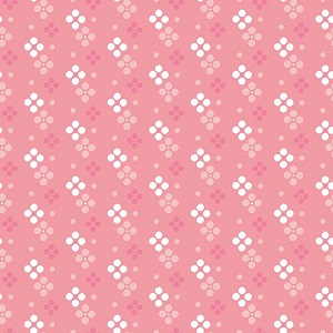 Riley Blake Designs - In The Meadow Spot in Pink