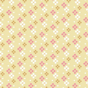 Riley Blake Designs - In The Meadow Spot in Yellow