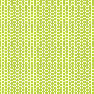 Riley Blake Designs Honeycomb Dot Reversed in Lime