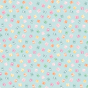 Penny Rose Fabrics - Perfect Party Present in Blue