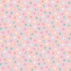 Penny Rose Fabrics - Perfect Party Present in Pink