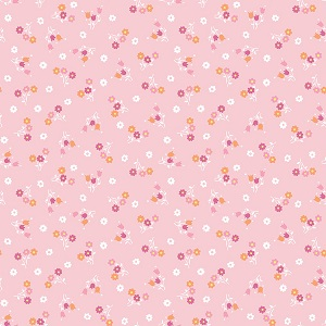 Penny Rose Fabrics - Perfect Party Bouquet in Pink