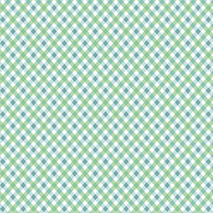 Penny Rose Fabrics - Perfect Party Plaid in Green