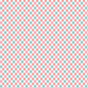 Penny Rose Fabrics - Perfect Party Plaid in Pink
