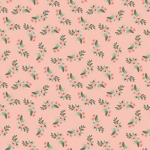 Riley Blake Designs - Bliss Floral in Blush