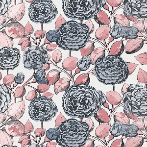 Penny Rose Fabrics - Sweet Stems Main in Off White