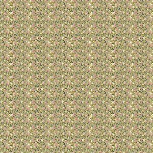 Penny Rose Fabrics - Sweet Stems Floral in Green