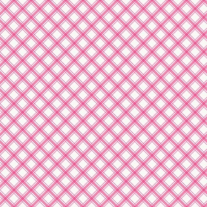 Riley Blake Designs - I'd Rather Be Glamping Plaid in Hotpink
