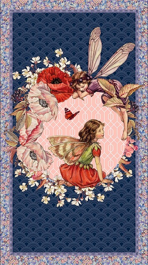 Michael Miller Elderberry Flower Fairies Panel *** PRE-ORDER - ARRIVING MID AUGUST ***