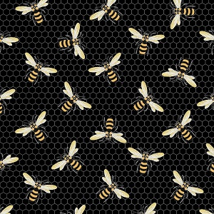 The Devonstone Collection Queen Bee Swam in Black
