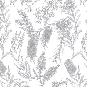 The Devonstone Collection Little Aussie Friends Native Floral *** MORE ARRIVING SOON - SIGN UP TO THE WAITING LIST ***
