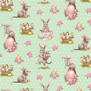 The Devonstone Collection Easter Bilby Main in Mint Dot