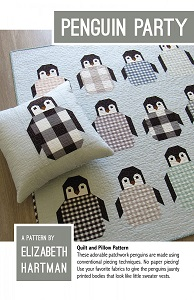 Elizabeth Hartman - Oh Fransson - Penguin Party Quilt & Pillow Pattern