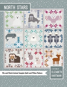 Elizabeth Hartman - North Stars Quilt & Pillow Pattern