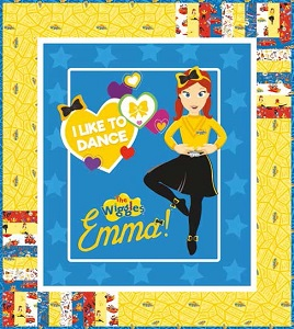 Riley Blake Designs The Wiggles Ready Steady Wiggle! - Emma in Blue Quilt Kit