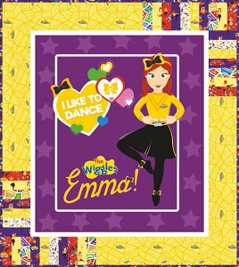 Riley Blake Designs The Wiggles Ready Steady Wiggle! - Emma in Purple Quilt Kit