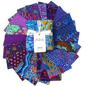 Freespirit Fabrics Kaffe Fassett Classics Peacock Fat Quarter Bundle of 20