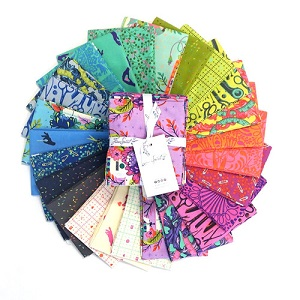 Tula Pink HomeMade Fat Quarter Bundle of 25 Pieces