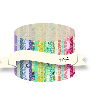 Tula Pink - Pinkerville - 2.5 Inch Strips Design Roll 40 Pieces *** PREORDER ARRIVING END OF APRIL 2019 ***