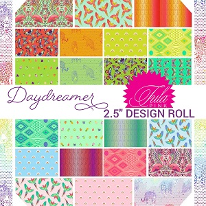 Freespirit Fabrics Tula Pink Daydreamer 2.5 Inch Strips Design Roll 40 Pieces *** PRE-ORDER - ARRIVING JANUARY 2022 ***