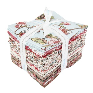 Riley Blake Designs Jane Austen at Home Fat Quarter Bundle of 20 Pieces *** SIGN UP TO BE NOTIFIED ONCE BACK IN STOCK ***