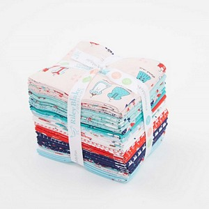 Riley Blake Designs - A Little Sweetness - Fat Quarter Bundle of 24 Pieces